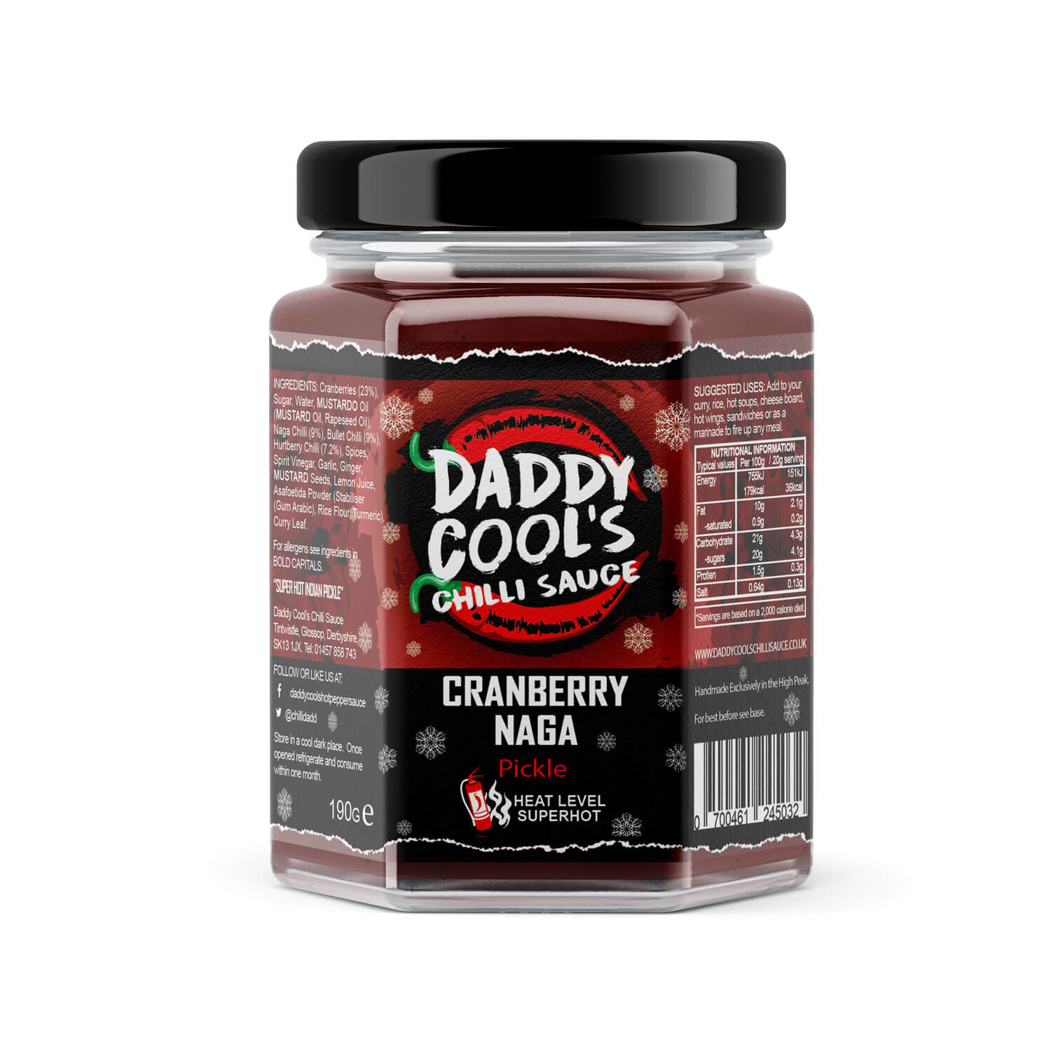 Superhot Cranberry Naga Pickle