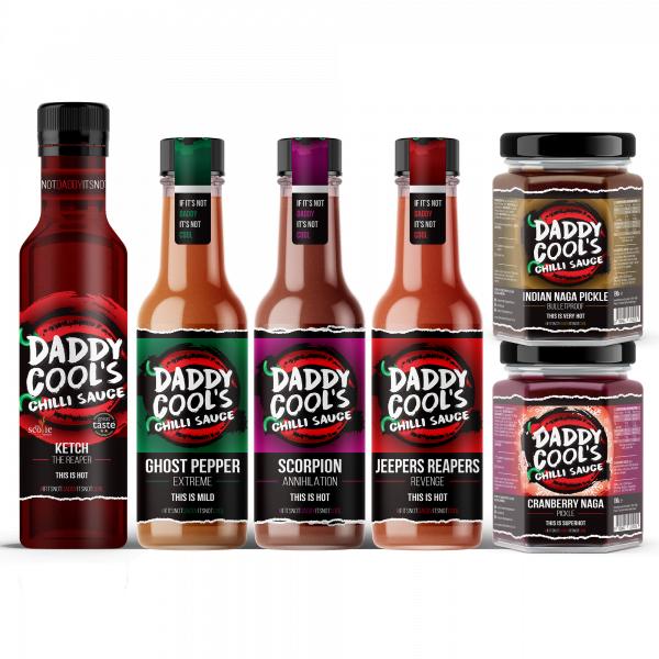 Hot Chilli Sauce Gift Sets