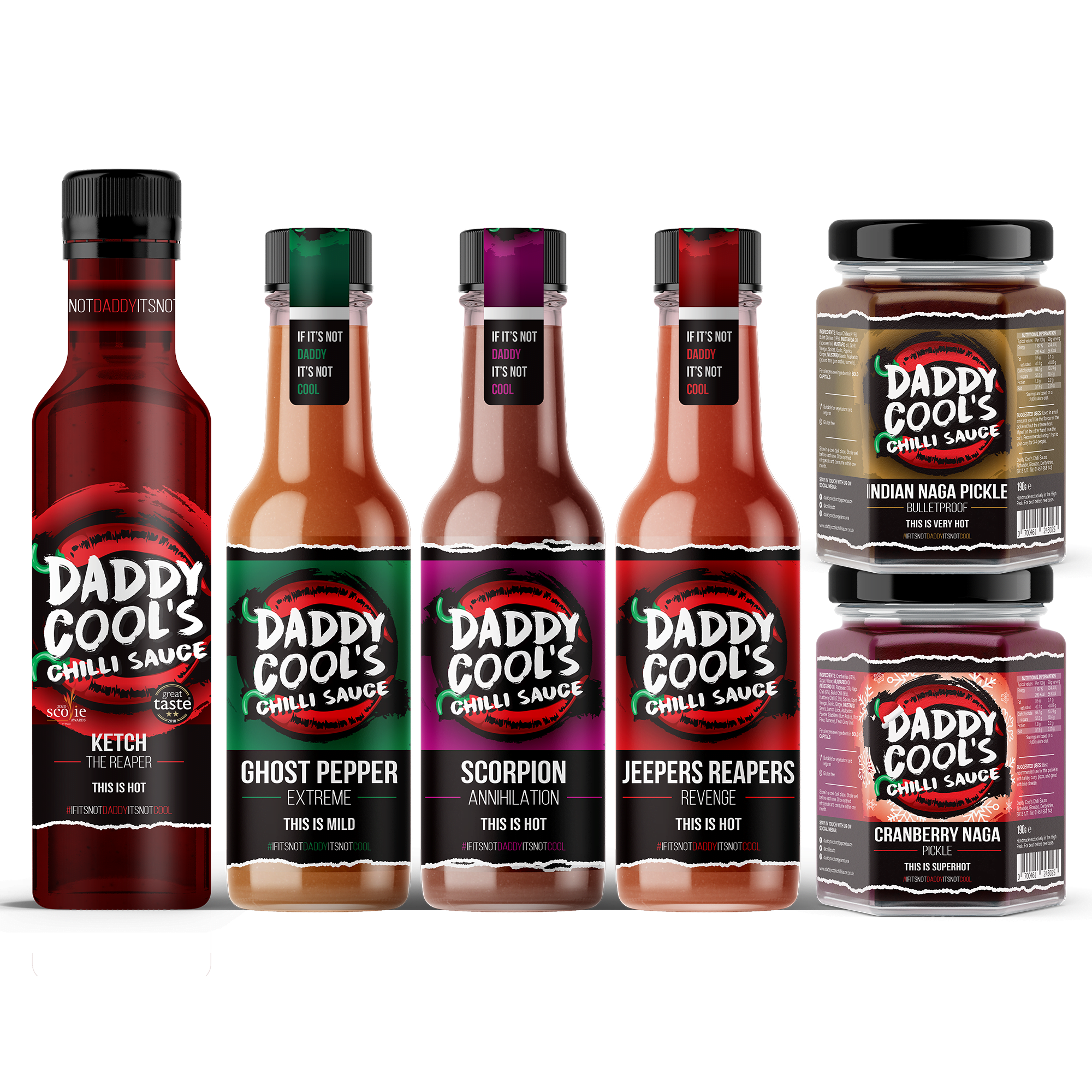 Hot Chilli Sauce Gift Sets